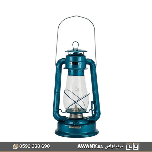 مصباح تراثي أزرق