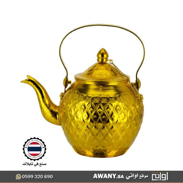 ابريق شاي معدن قديم