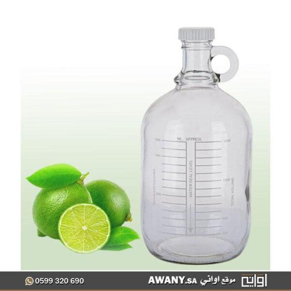 قوارير زجاجية (برطمان عصير زجاج كبير)