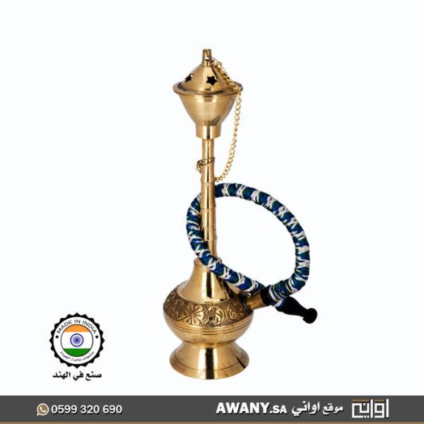 تحف تراثيه شكل شيشة ( معسل صغير لزينه)