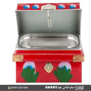 صندوق تراثي احمر للبيع