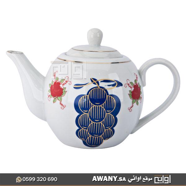 أبريق-شاي-نقش-قديم