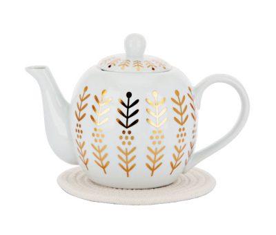 غوري شاي ذهبي بنقشة التولة